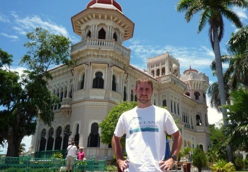 Palacio del Valle, en Punta Gorda en Cienfuegos