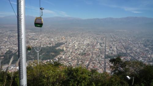 Salta desde el Cerro San Bernardo