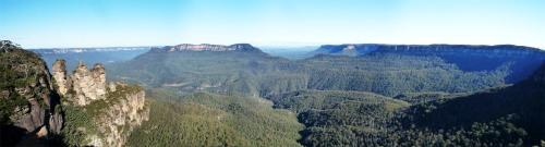 Adivinad por qué les llaman las Blue Mountains